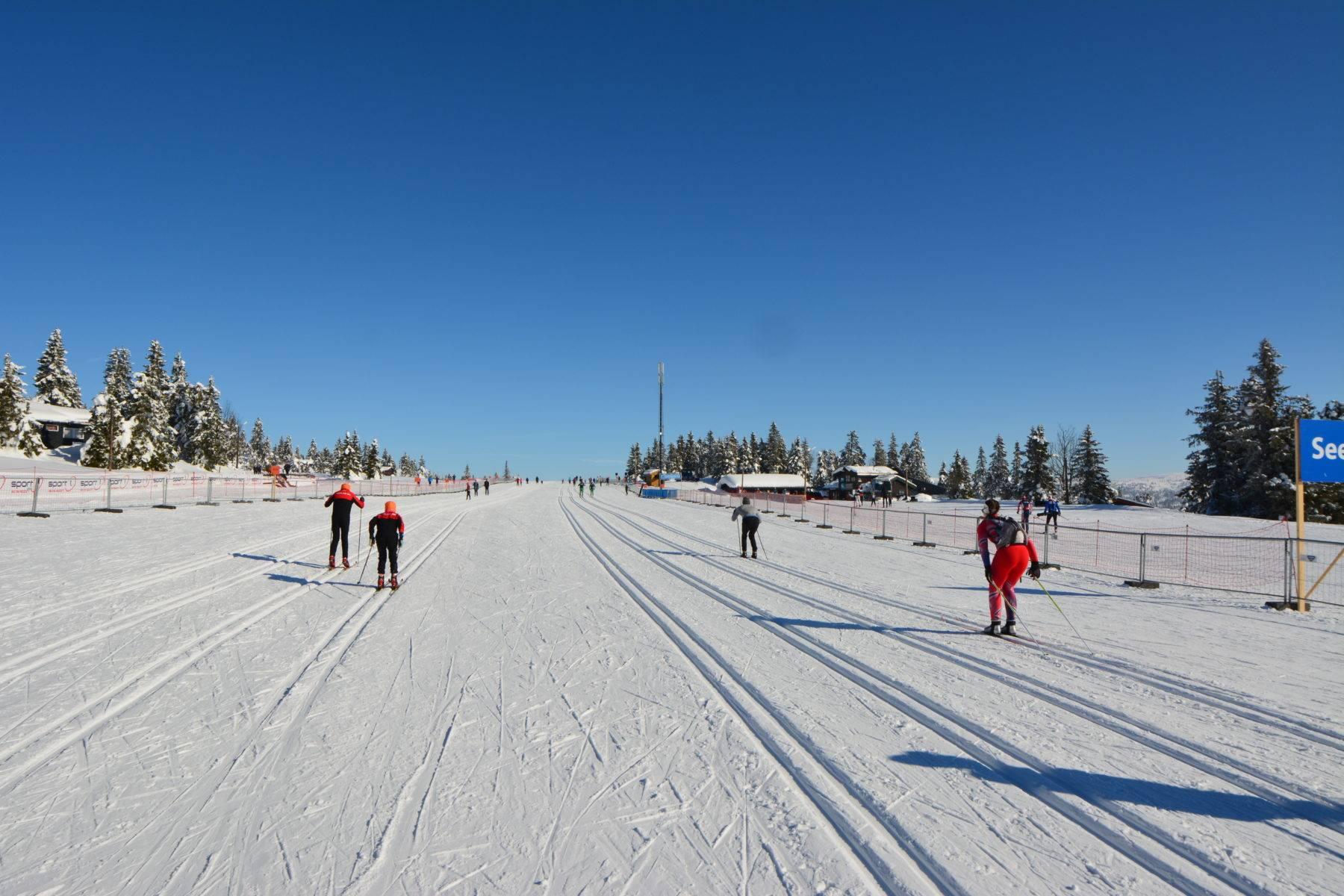 Sjusjøen Langrennsarena er åpent for fritidsbruk og trening, i tillegg til arrangementer.