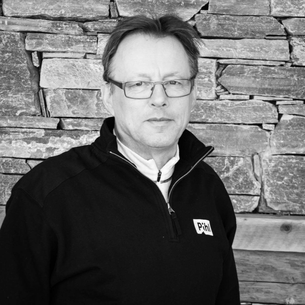 Odd Ivar Sørli, driftsleder i Pihl AS