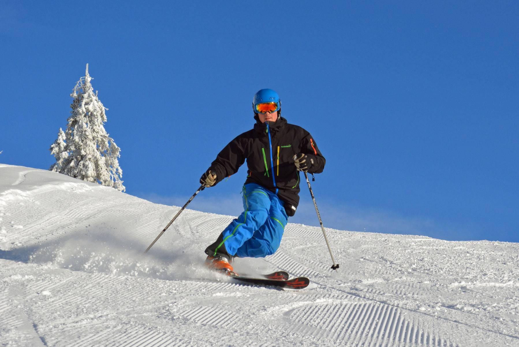 Sjusjøen Skisenter er et familievennlig alpinanlegg.