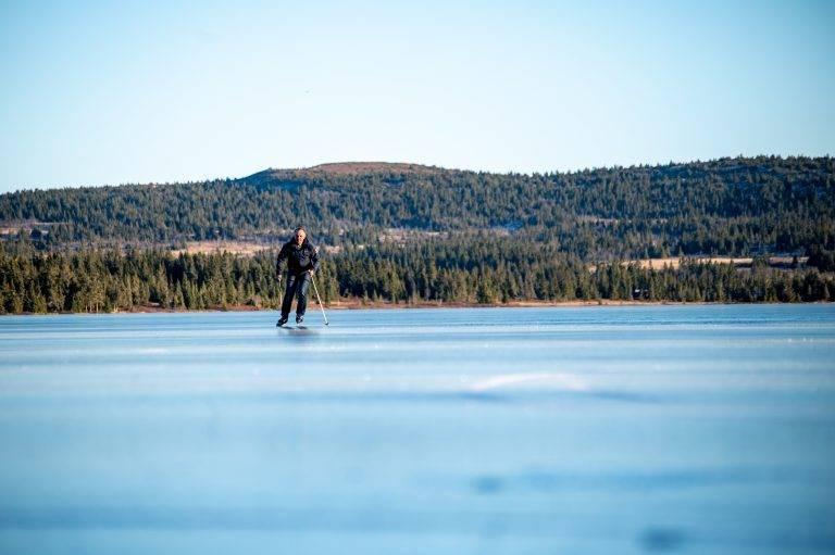 Is på Sjusjøen (14)