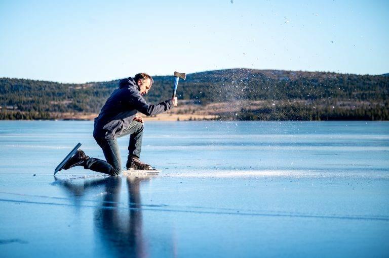Is på Sjusjøen (15)