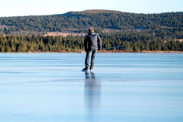 Is på sjusjøen (8) 2